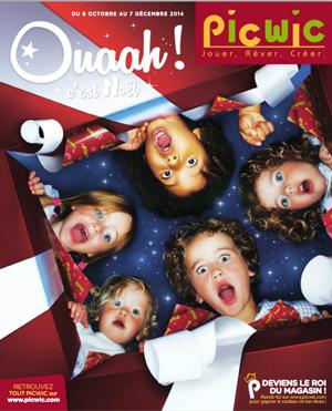 Catalogue de Noël 2014 des magasins Picwic