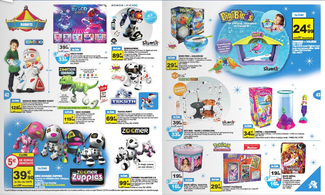 Catalogue de jouets de noël