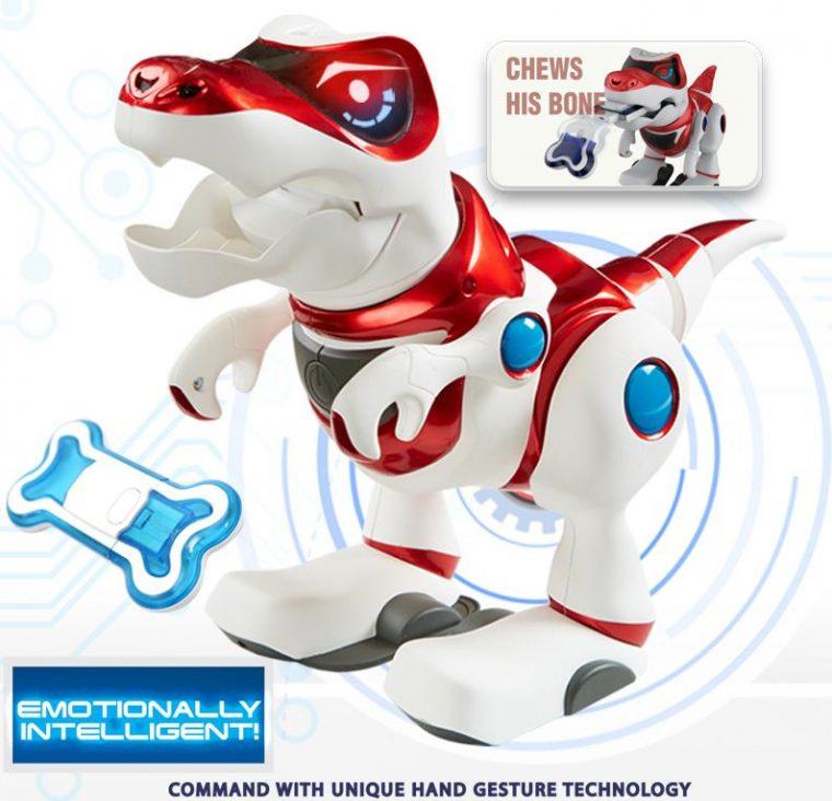 Teksta Dino T-Rex : Le robot dinosaure intelligent ...