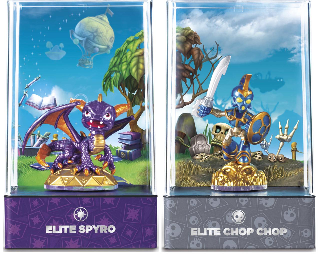 Elite Spyro et Elite Chop Chop