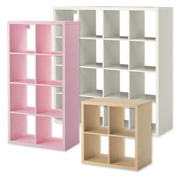 Comment transformer un meuble ikea en maison de poup e for Meuble 4 cases ikea