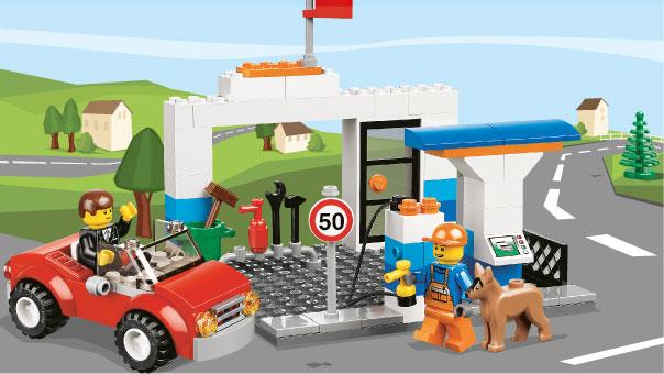 LEGO Juniors - Une valise de construction pour garçon