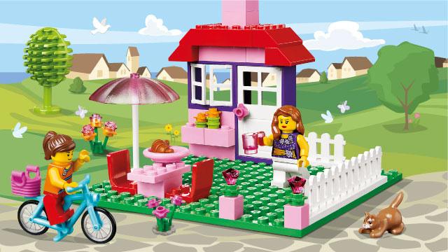 LEGO Juniors - Une valise de construction pour fille