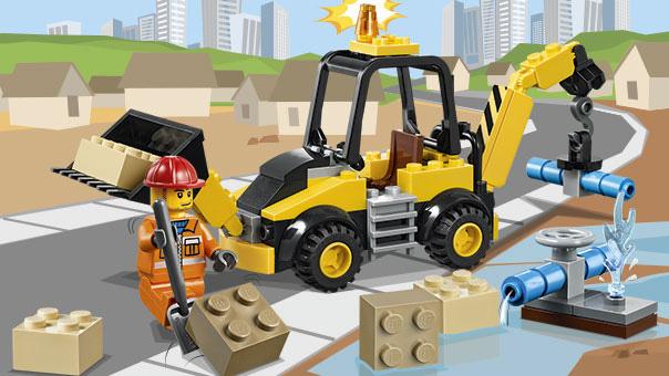 LEGO Juniors - Une pelleteuse