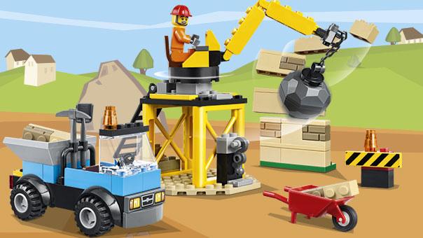 LEGO Juniors - Une boite de construction de chantier