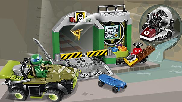 LEGO Juniors - Le repaire des Tortues Ninja