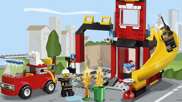 LEGO Juniors - 10671 - Pompiers