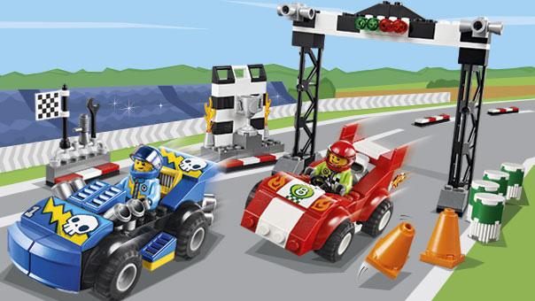 LEGO Juniors - Rally automobile