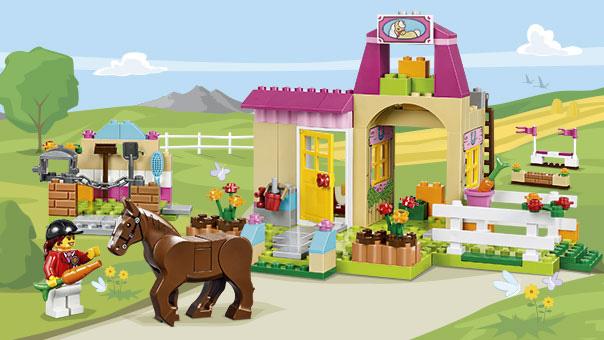 LEGO Juniors - Le centre équestre