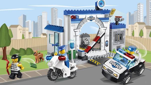 LEGO Juniors - La caserne de police