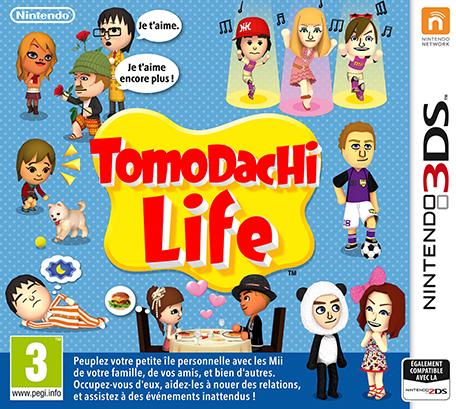 Pochette du jeu Tomodachi Life sur Nintendo 3DS