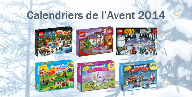 calendriers de l avent 2014 pour filles et gar ons lego friends lego star wars playmobil. Black Bedroom Furniture Sets. Home Design Ideas