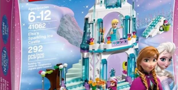 Lego reine des neiges le nouveau coffret disney - Chateau elsa reine des neiges ...