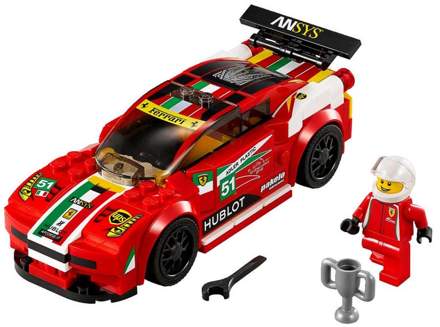 Ferrari 458 Italia GT2 - Lego 75908