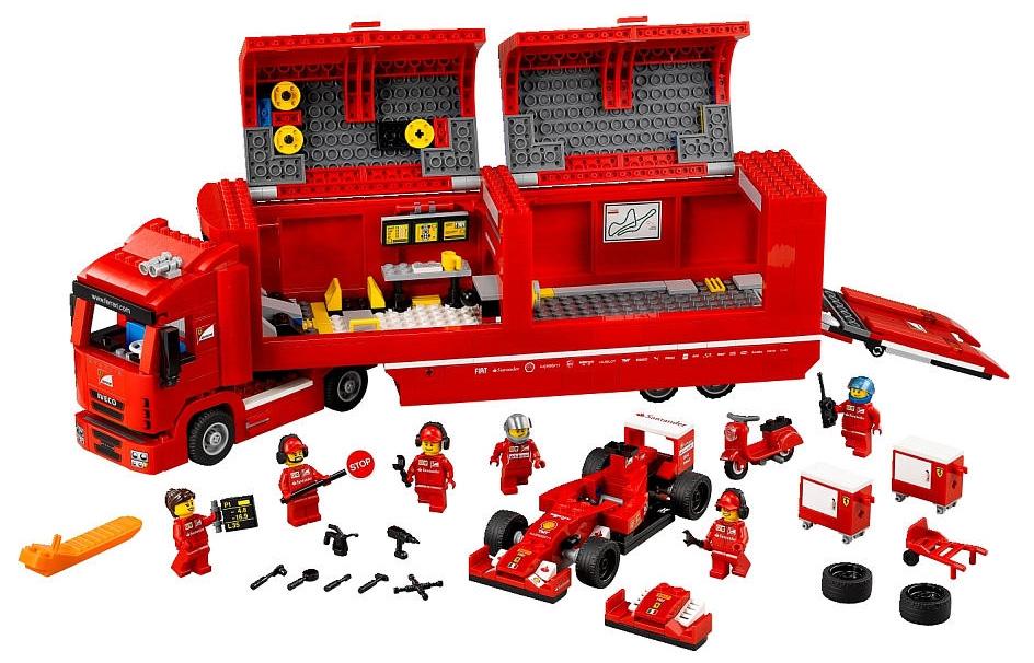 F14-T & Camion logistique Ferrari - Lego 75910