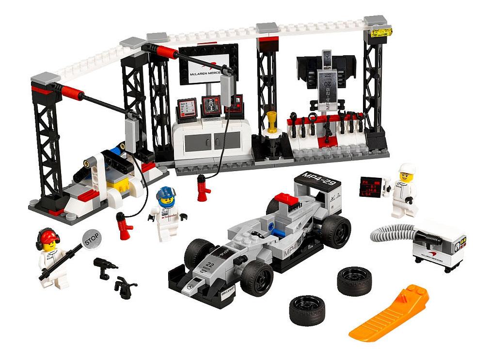 McLaren Mercedes Pit Stop - Lego 75911