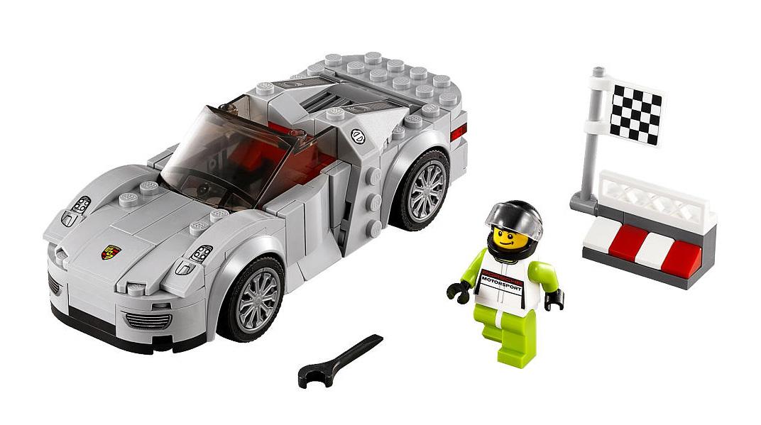 Porsche 918 Spyder - Lego