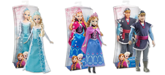 anna et elsa deviennent les poup es les plus populaires no l devant barbie et monster high. Black Bedroom Furniture Sets. Home Design Ideas