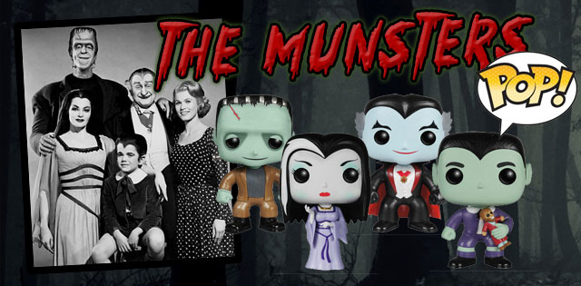 The Munster - Figurines Funko
