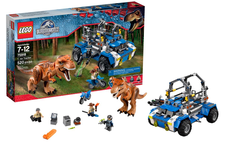 lego-75918-poursuite-t-rex-contenu