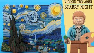 Le nouveau set lego ideas vincent van gogh