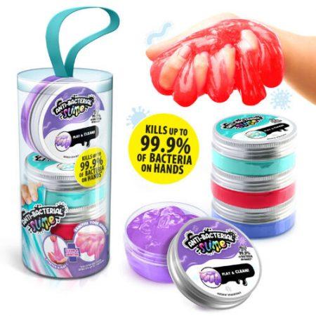 Slime anti-bactérien de chez Canal Toy